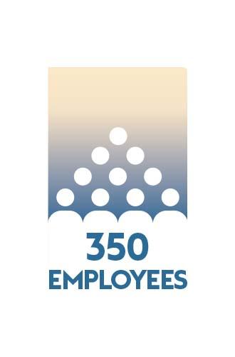 350 employees so far